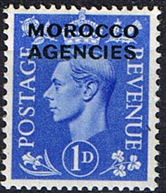 Morocco Agencies British Currency 1951 King George VI SG 95 Fine Mint Scott 264 Other Morocco Stamps HERE