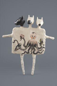 The Animal Inside/ Drawing/ Sculpture/ Mixed Media by Harem6/ Ildiko Muresan