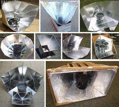 Creative DIY Solar Cooker Designs - WebEcoist