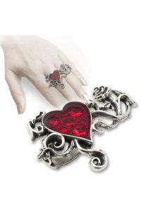 Alchemy Gothic - Ring - Bed of Blood Roses