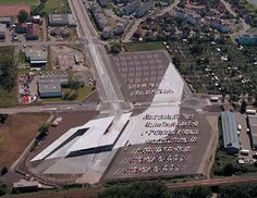 Zaha Hadid 2004 Laureate, Car Park and Terminus Hoenheim North, Strasbourg, France, 2001