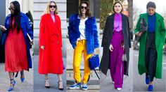 Showgoers Experimented with Color Blocking On Day 3 of Paris Fashion Week | Fashionista