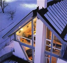 Passive Solar Heating - the appropriate use of windows along with building design