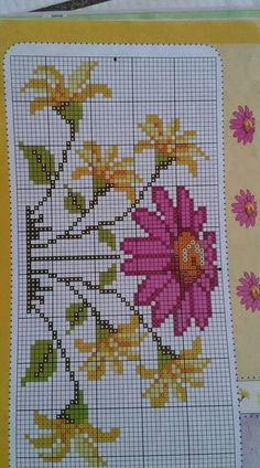 This Pin was discovered by Öze Kawaii Cross Stitch, Mini Cross Stitch, Simple Cross Stitch, Beaded Cross Stitch, Cross Stitch Flowers, Cross Stitch Embroidery, Embroidery Patterns, Easy Cross Stitch Patterns, Cross Stitch Designs