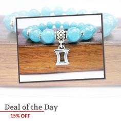 Today Only! 15% OFF this item.  Follow us on Pinterest to be the first to see our exciting Daily Deals. Today's Product: Gemini Bracelet, Gemini Zodiac Gemstone Charm Bracelet Gemini Horoscope Gemstone Bracelet Gemini Zodiac Birthstone Gemstone Charm Bracelet Buy now: https://www.etsy.com/listing/250749516?utm_source=Pinterest&utm_medium=Orangetwig_Marketing&utm_campaign=Daily%20SAle   #instajewelry #etsy #etsyseller #etsyshop #etsylove #etsyfinds #etsygifts #musthave #loveit #instacool…