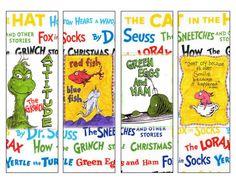 free dr suess printables | printable dr seuss bookmarks: dr seuss printable bookmarks