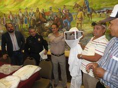 <p>Chihuahua, Chih.- El programa de rescate de enjambres de abejas en Chihuahua será propuesta nacional ante la necesidad de preservar la especie y