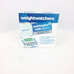 Weight Watchers Points Plus® Calculator NAC5.1A Daily & Weekly PP Tracker NOS #WeightWatchers