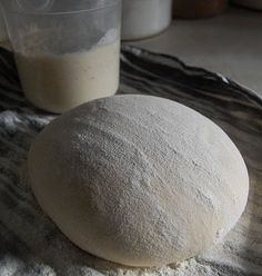 """Sourdough starter and Dutch Oven Sourdough Bread. 1 cup whole milk, buttermilk, whey or unflavored yogurt 1 cup Unbleached flour, I have used Rye and Spelt but I prefer keeping my starter """"white."""""""