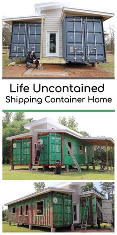 Life Uncontained Shipping Container Home Tiny House Ideas Container Home Life Shipping Uncontained Shipping Container Home Designs, Shipping Container House Plans, Container House Design, Shipping Containers, Container Home Plans, Building A Container Home, Container Buildings, Container Architecture, Plan Chalet