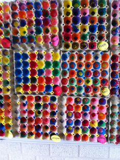 Do It Yourself Solar Electricity For Your House Kids Paint Egg Cartons, Kandinsky Artis Study Egg Carton Art, Egg Carton Crafts, Egg Cartons, Craft Stick Crafts, Crafts For Kids, Arts And Crafts, Kindergarten Art, Preschool Art, Painting For Kids