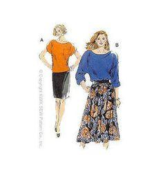 Kwik Sew Pattern Misses Casual /XS-XL
