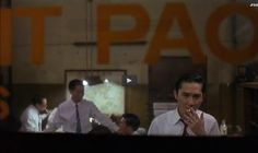 """From """"In the mood for love"""", 2000. Director of photography: Christopher Doyle, Mark Lee Ping Bin"""
