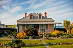 Hanlon House at Stanley in Tasmania.  Great B & B, wonderful views and breakfasts to die for!