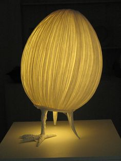 awesome lamp by papier a etres