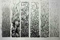 Different Types Of Lines In Art Drawing : Different types of markmaking to explore year