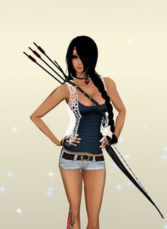 Captured Inside IMVU - Join the Fun!  Hunger Games Style