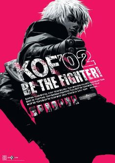 King of Fighters 2002 Poster – Arcade Shock Art Of Fighting, Fighting Games, Video Game Posters, Video Game Art, Video Games, K Dash, Snk King Of Fighters, Character Art, Character Design