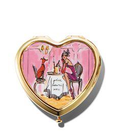 Henri Bendel Heart Compact