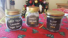 Lavender sugar scrubs!