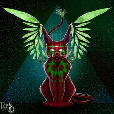 David Piñeles Ilustraciones: Dios Gato Psicodélico #DavidPiñelesIlustraciones #Dibujo #Draw #Ilustracion #Illustration #Digital #Painting #Pintura #Concept #Art #Character #Design #Dios #Gato #God #Cat #Psicodelico #Psychedelic #Gif