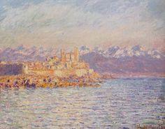 La Baie d'Antibes (C Monet - W 1161),1888.