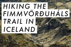 Hiking the Fimmvörðuháls Trail in Iceland