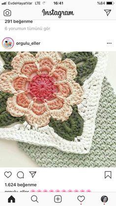 Crochet Squares, Blanket, Home Decor, Flowers, Decoration Home, Room Decor, Crochet Blocks, Blankets, Cover