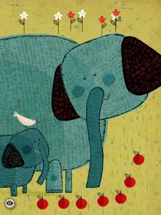 Captura de pantalla del iPad 2. Ilustración de Paloma Valdivia.