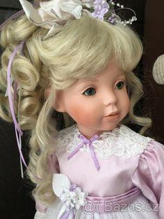 Porcelánová panenka Violet od Donna RuBert - 1