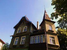 Zabytkowa willa w dzielnicy Oliwa #gdansk #oliwa