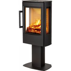 WIKING Miro 1 peisovn med pidestall Stove, Home Appliances, Wood, House Appliances, Range, Woodwind Instrument, Timber Wood, Appliances, Trees