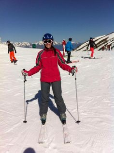 #skiing #holidays #frenchalps #valmeinier #weheartit #happiness #trips   #férias #ski #alpes #frança #felicidade #viagem #msctrips
