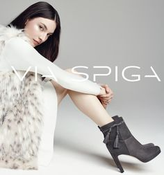 [Ad Campaign] Jacquelyn Jablonski Models Via Spiga's F/W '16/17.