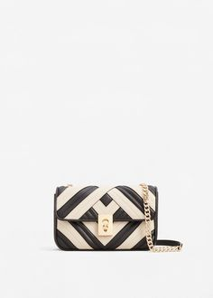 Quilted cross-body bag   MANGO