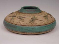 ✨ Ceramic Art by Linda Nowell - Dragonflies ::: Libellen