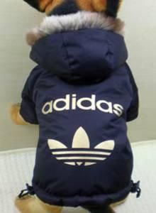 adidas hoodies for dogs | Details for: FS: Adidas / Nike dog clothes jackets hoodies jumpsuits ...
