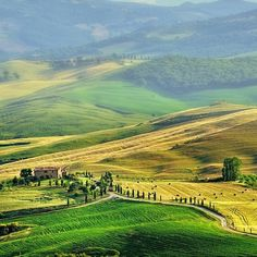 #Toscana, un lugar para caminar