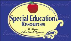 Special Education Resources for Elementary & Middle School.  Find guided notes, tiered lessons, activities, tips, and more on this board.  Or visit my TpT store for some math resources geared to reach all learners.  © 2015 Mary Moore, MMoore Educational Resources,  Feel free to share, follow, & repin.