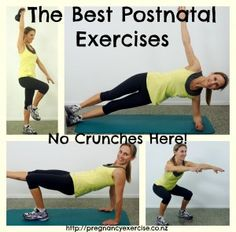 If you want to flatten your mummy tummy then you first need to retrain and strengthen weak lower abdominals with rehabilitation exercises NOT CRUNCHES!