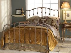 The Nantucker Iron Bed by Wesley Allen has that heirloom look. Available in a plethora of gorgeous finishes. Bedrooms & More Seattle. Toll-free: 1-888-297-8844