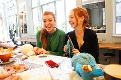 Beginners Knitting Workshops | London, makes knitting kit, all you need to DIY, yarn love