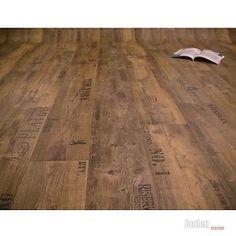 PVC Bodenbelag Rustikal Dunkel mit Aufdruck Presto 549 Breite 2 m - 1m²/9,50 €