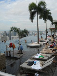 top of Marina Bay Sands Hotel, Singapore