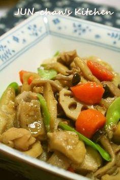 ほっこり煮物*うちの筑前煮 by JUNちゃン [クックパッド] 簡単おいしいみんなのレシピが225万品