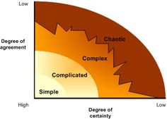 Complexity Theory. In reality change, especially large scale change, defies logical rules and simple management actions. Complexity theory and a view of organisations as 'complex adaptive systems', attempts to consider some of those realities and arguably provides a better model for change in an education setting (see for example Lewin and Regine (1999), Olson and Eoyang (2001)).