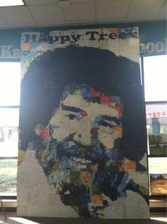 8th graders made this... gives me hope <3 #bobross #happytrees
