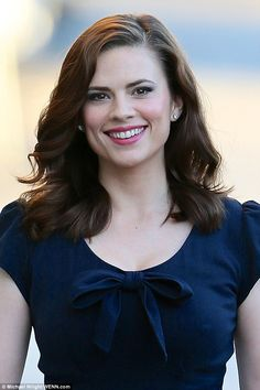 Season 3 of Agent Carter looks unlikely to go ahead ahead after star Hayley Atwell was cast as the lead in a new show on the same network, ABC. Hayley Atwell Peggy Carter, Hailey Atwell, Hayley Elizabeth Atwell, Hailey Baldwin, British Actresses, Hollywood Actresses, Actress Hayley Atwell, Amy, Woman Smile