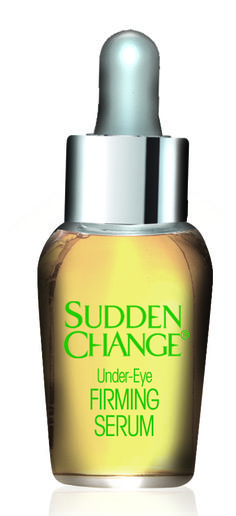 Sudden Change Under-Eye Serum- this little piece of drugstore magic helps all your under eye issues!