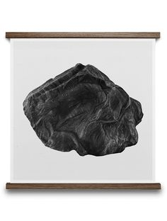 ROCK 50/50 A BY BØRGE BREDENBEKK. Buy print at  https://paper-collective.com/product/rock-5050-a/ #papercollective #art #illustration #drawing #nature #monochrome #grey #print #poster #posterdesign #design #interior #home #decor #homedecor #wallart #artprint